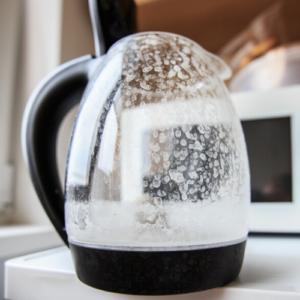 Hard Water Spots on Coffee Pot